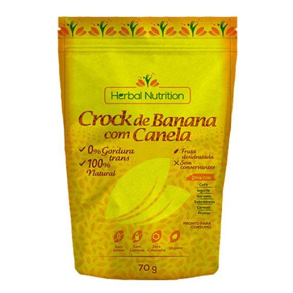 Crock de Banana com Canela