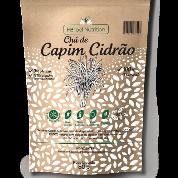 Chá de Capim Cidrão 50 gr